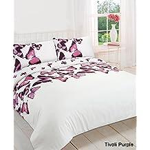 Mariposa Tivoli funda de edredón colcha funda de almohada juego de cama doble King Todos los