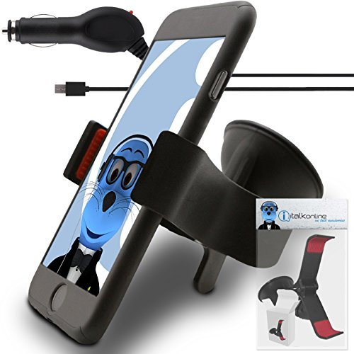 black-motorola-moto-g4-play-car-holder-with-1000-mah-microusb-car-charger-claw-multi-directional-das