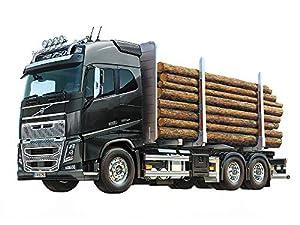 Tamiya Volvo Fh16 Globetrotter 750 On-road truck 1:14 - Vehículos de tierra por radio control (RC) (On-road truck, 1:14, Kit de montaje, Negro, Gris, Acrilonitrilo butadieno estireno (ABS), Aluminio, 73,3 cm)