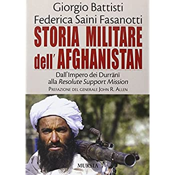 Storia Militare Dell'afghanistan