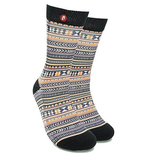 Fool's Day Unico Patterned calzini per gli uomini/donne di vario stile calze colorate abito