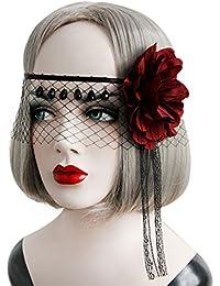 TOOKY Women Bat Wing Headband Hair Clip Fancy Halloween party Cosplay Costume losBV