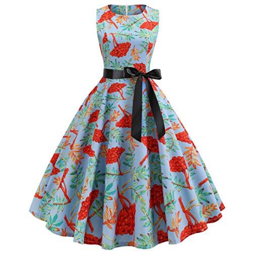 Kleider Damen 1950er Vintage Elegant Hepburn Hochzeit Spitzen Brautjungfern Abendkleid Ballkleid...