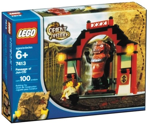 LEGO Orient Expedition 7413 - Tor des Jun-Chi