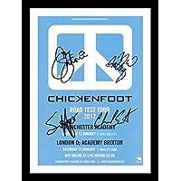 Chickenfoot Autogramme Signiert Und Gerahmt Foto