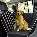 Dog Car Seat Covers, Pet Seat Cover for Back Seat Mesh Viewing Window/Side