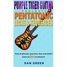 Pentatonic Licks & Sequences (English Edition)