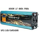 Inverter 8000W LF Inversor De Onda Pura Del Seno DC 24V/AC 220V+LCD+Cargador