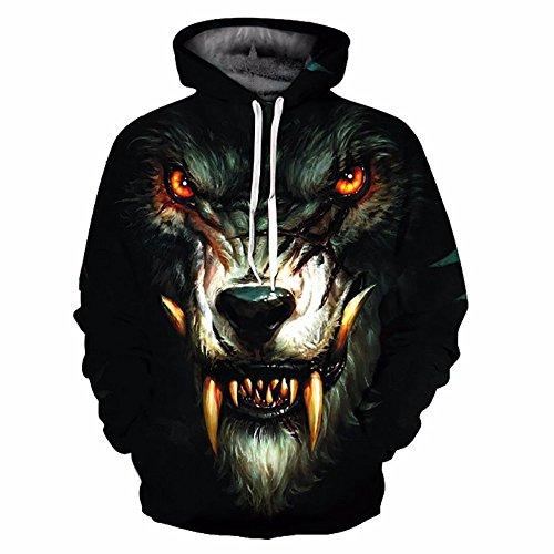 À Sweatshirts Nouvelle Capuche Pull Wolf Ydyp Hoodies 3d Print Sweats Mince Hommesfemmes Mode b7gyIYv6mf