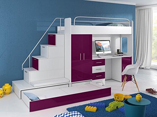 hochbett schrank gebraucht kaufen nur 3 st bis 65 g nstiger. Black Bedroom Furniture Sets. Home Design Ideas