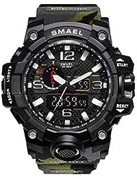 Relojes Militar, Reloj Hombre Deportivo, Reloj Resistente al Agua Digital Militares Multifuncional Relojes de