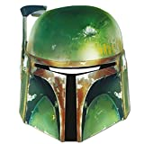 Faschingsfete Star Wars Boba Fett Maske, Mehrfarbig