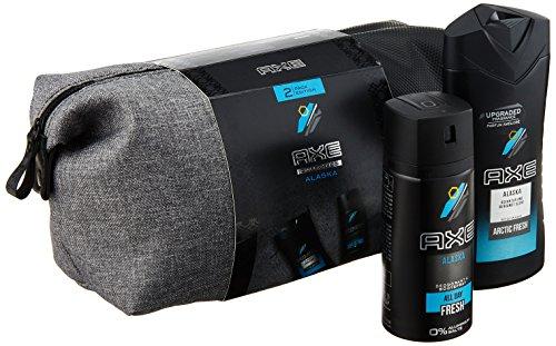 Axe Geschenkset Alaska Bodyspray 150ml & Duschgel 250ml mit Washbag, (1 x 400 ml)