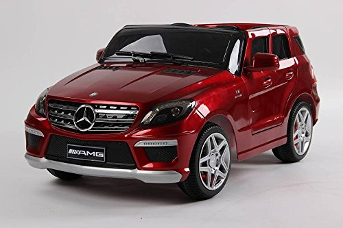 Original con licencia de Mercedes-Benz G-class AMG, Negro, Ruedas EVA, Niños del coche, Niños del coche eléctrico, 2x de motor, batería de 12 V, con mando a distancia, con llave