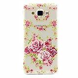 MOTOUREN Housse Pour Samsung Galaxy J1 ACE Ultra-minces TPU Silicone Shell Cas Coque Étui Case Cover - pink Rose