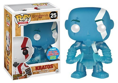 Funko - Figurine God of War - Kratos Poseidon Rage NYCC 2015 Pop 10cm - 0849803056698