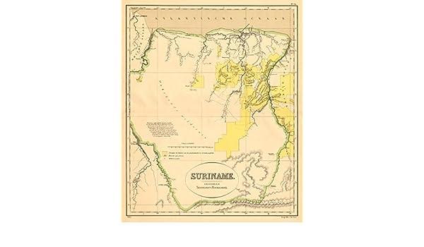 SURINAME. Surinam. Dutch Guiana. South America. DORNSEIFFEN - 1892 on