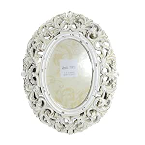 "6x4"" Shabby Chic Vintage Style Cottage Cream Photo frame"
