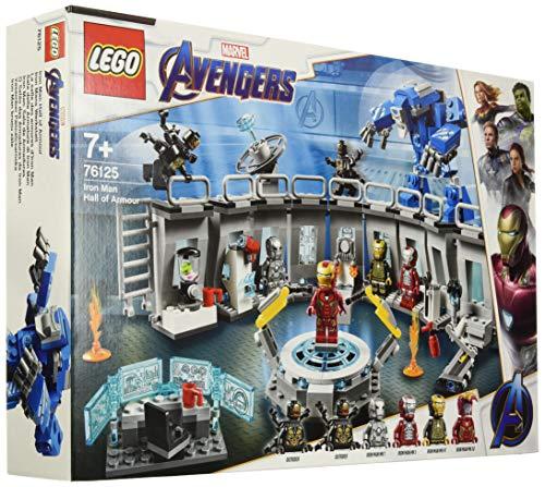 LEGO Marvel 76125 Super Heroes Iron Mans Werkstatt Kinderspielzeug Bunt -