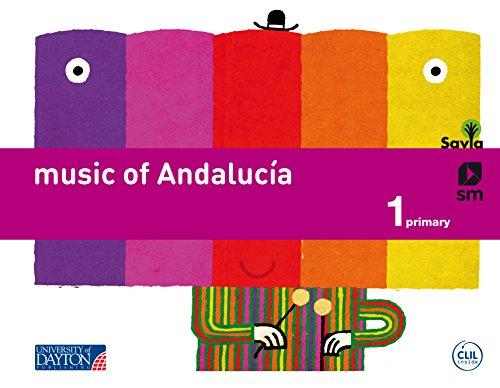 Music. 1 Primary. Savia. Andalucía - 9788415743873