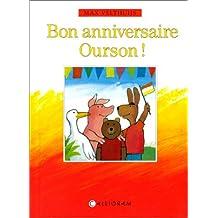BON ANNIVERSAIRE OURSON !