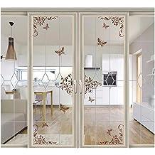 Vinilos para puertas de armario - Cristales decorativos para puertas de interior ...