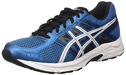 asics-gel-contend-4-scarpe-running-uomo-blu-thunder-blue-white-black-42-eu