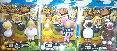 Cyp Imports  - Pack 2 lanzabolas Squeeze Popper + Diana