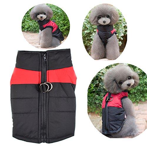 Wasserdichter Hundemantel Jacke weihi Warm Padded Puffer Soft Pet Hund Welpen Kleidung Kostüm Pullover für kleine medium Große Hunde