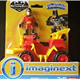 Imaginext, DC Super Friends, Streets of Gotham, Robin Action Figure and ATV by Streets Of Gotham City