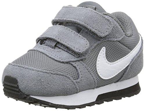 Nike Baby Jungen MD Runner 2 (TDV) Sneaker, Grau (Cool Grey/White-Black 002), 27 EU
