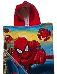 Spiderman - Poncho - cape de bain à capuche Spiderman - unique