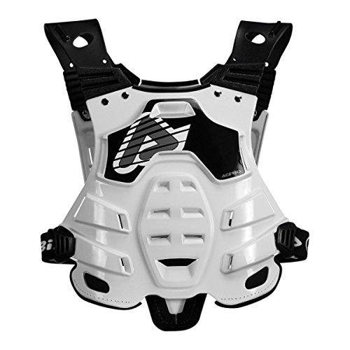 Acerbis Brustpanzer Profile Weiß
