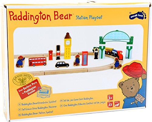 Small foot Paddington Bär Eisenbahn Spielset London, 43 teilges Set