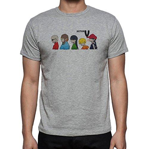 Kids Next Door V Sector Herren T-Shirt Grau