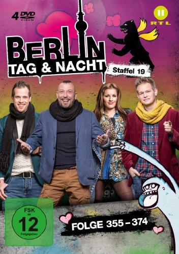 Berlin - Tag & Nacht - Staffel 19 (Folge 354-374) [4 DVDs]