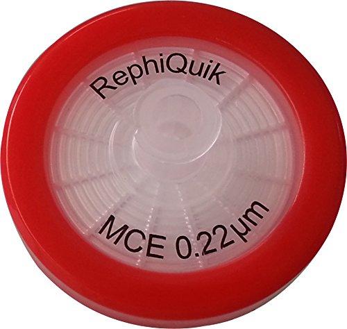MCE unsteril Spritze Filter 32mm Durchmesser, 0,22Micron Spritze Filter (100Stück) -