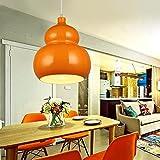 WLM Runde Esszimmer Lichter, Führte Restaurant Kronleuchter, Moderne Minimalistische Kreative Aufzug Lichter, Bekleidungsgeschäft Korridor Kronleuchter, Ganglichter,Kürbis,Einheitsgröße
