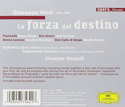 "Verdi : La Forza del Destino (""La Force du destin"")"