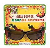 Forum Novelties 74554Chili Pepper Brillen, One Size