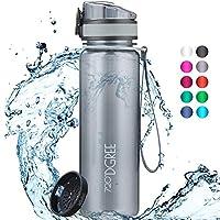 """720°DGREE Trinkflasche """"uberBottle"""" crystalClear +Sieb - 350ml, 500ml, 650ml, 1L, 1,5l - BPA-Frei - Sportflasche für..."""