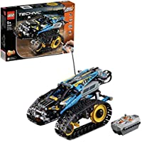 LEGO 42095 Technic Remote-Controlled Stunt Racer Toy Car, 2 in 1 Model, Power Functions, Racing Kits for Kids