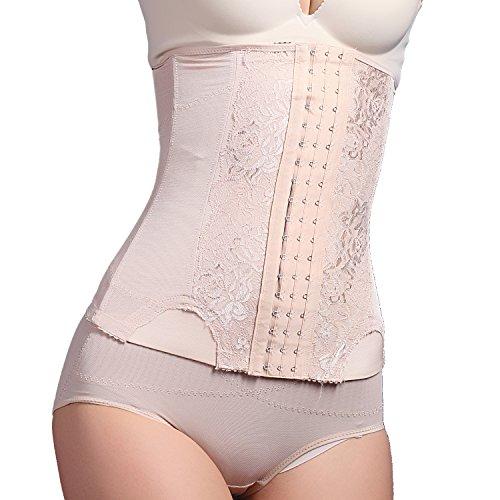 Fzmix Plus Size Corset Slim Shaper Corset Waist Trainer Women Waist Belt Modeling Strap Waist ()