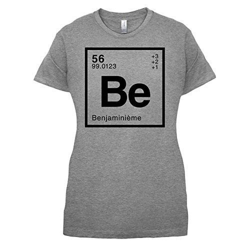 Benjamin - Élément Périodique - Femme T-Shirt - Gris - S