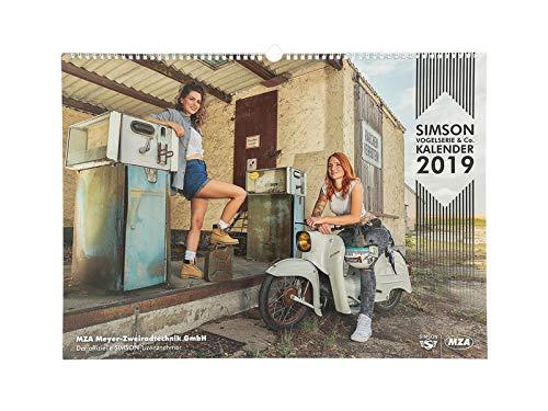 Preisvergleich Produktbild MZA SIMSON Vogelserie & Co. Kalender 2019