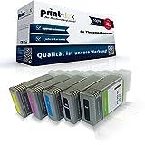 5x Kompatible Tintenpatronen für Canon imagePROGRAF IPF 500 IPF 510 IPF 600 IPF 605 IPF 610 IPF 650 IPF 655 IPF 700 IPF 710 IPF 720 IPF 750 IPF 755 IPF 760 IPF 765 PFI 102 PFI102 Schwarz Matt Schwarz Blau Rot Gelb