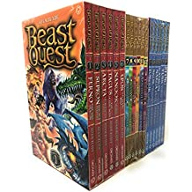 Beast Quest (Series 1, 2 And 3) 18 Books Set Collection