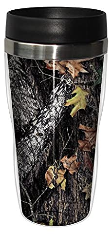 Tree-Free Greetings 16 oz Stainless Steel Break Up by Mossy