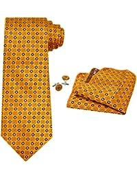 Cravatta - Uomo - Set Seta Cravatta Set  Cravatta + Tasca Piazza + Gemelli - 6353348d76bb