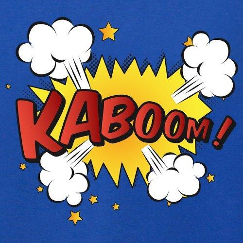 Superheld Kaboom - Damen T-Shirt - 14 Farben Royalblau